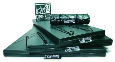 Self inflating camping drifter mattress